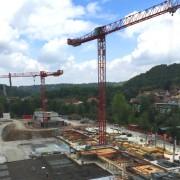 """Aktuelle Ansicht der Baustelle """"Weilerwiese"""""""