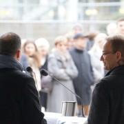 Richtfest auf der Weilerwiese in Schwäbisch Hall, Baden-Württemberg
