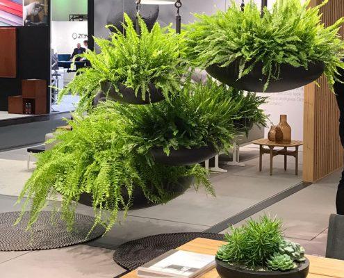 Orgatec - Neue Bürokonzepte mit Pflanzensystemen