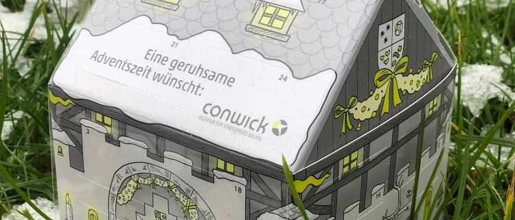 Conwick wünscht allen Kunden und Geschäftspartnern eine stressfreie Adventszeit