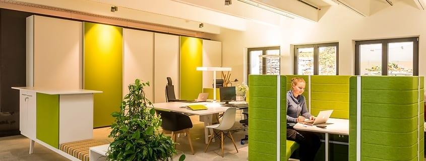 Büroplanung für moderne Arbeisplätze im Rahmen von Bauvorhaben – Conwick und Staehlin