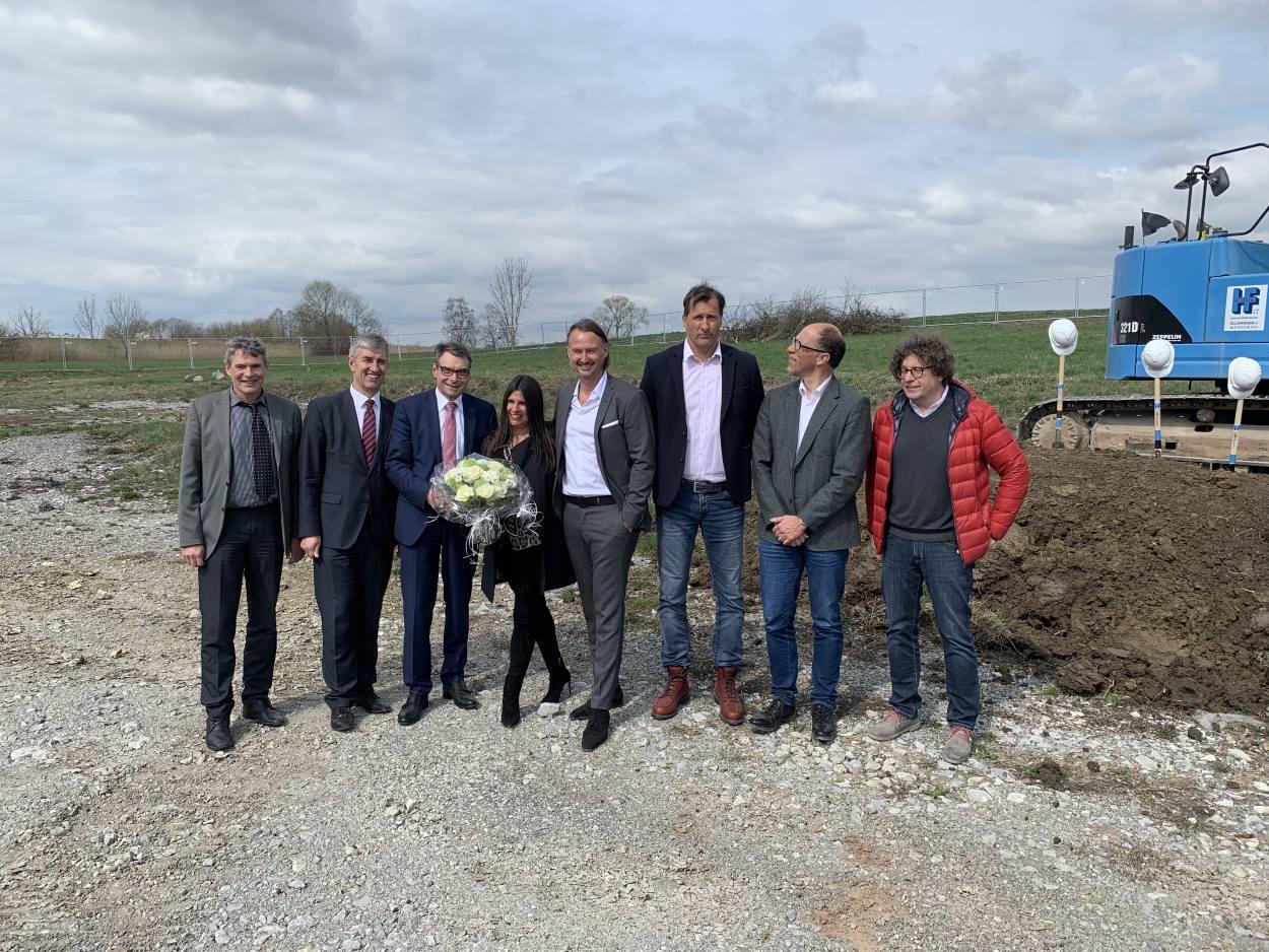 Spatenstich beim medicolleg Crailsheim mit Conwick, Bauherrenvertretung in Baden-Württemberg und Bayern