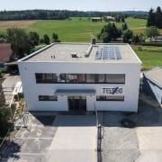 Bauvorhaben TELTEC Conwick, Bauherrenvertretung in Baden-Württemberg - Neubau, Ansicht Südseite