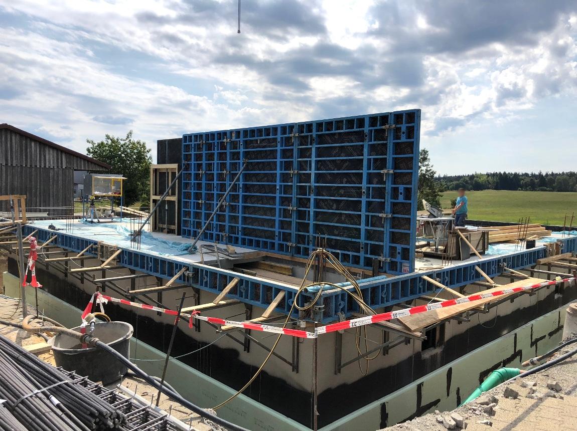 Bauvorhaben TELTEC Conwick, Bauherrenvertretung in Baden-Württemberg - Schritt 3, Wandstruktur