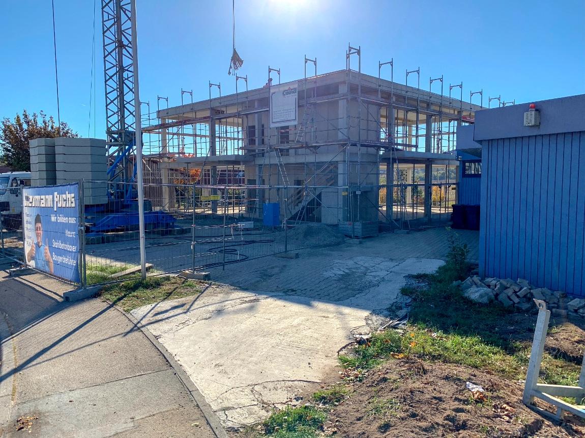 Bauvorhaben TELTEC Conwick, Bauherrenvertretung in Baden-Württemberg - Schritt 4, Rohbau