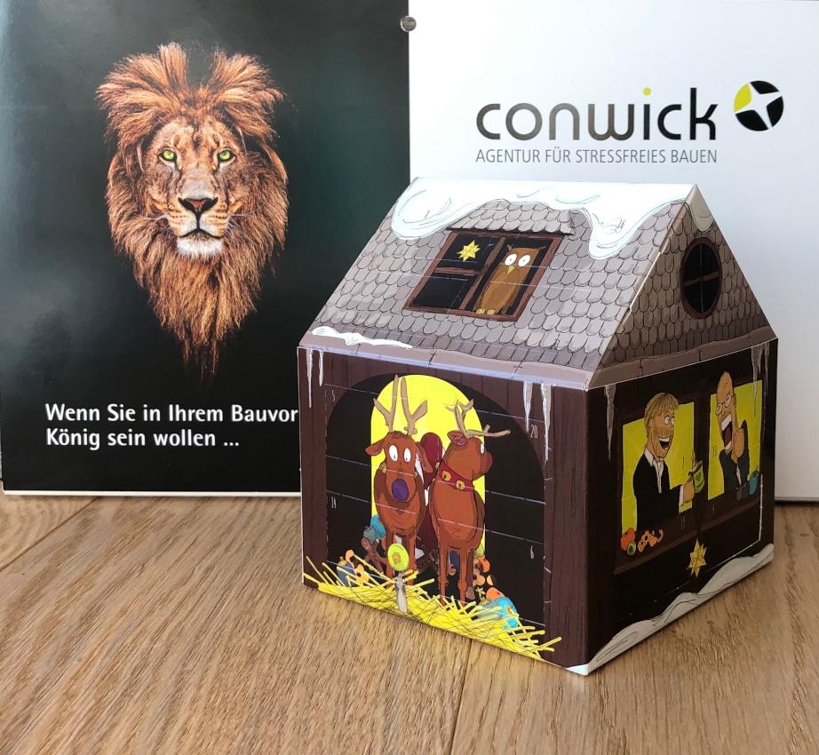 Conwick wünscht allen Kunden und Geschäftspartnern eine stressfreie und besinnliche Vorweihnachtszeit