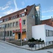 Abschluss Sanierung Kreissparkasse Ellwangen mit Bauherrenvertretung Conwick - Außenansicht