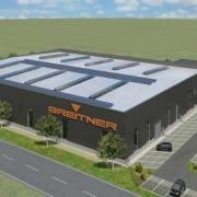 Spatenstich Neubau Produktionshalle und Verwaltung Breitner Abfüllanlagen GmbH – Bauherrenvertretung Conwick (Bild: Fischer & Gibbesch Architekten GbR)
