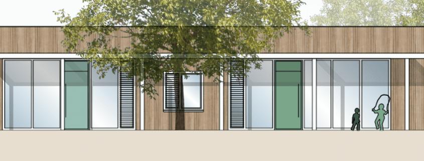 Kindergarten-Neubau mit Bauherrenvertretung Conwick (Bild: 3+Architekten)