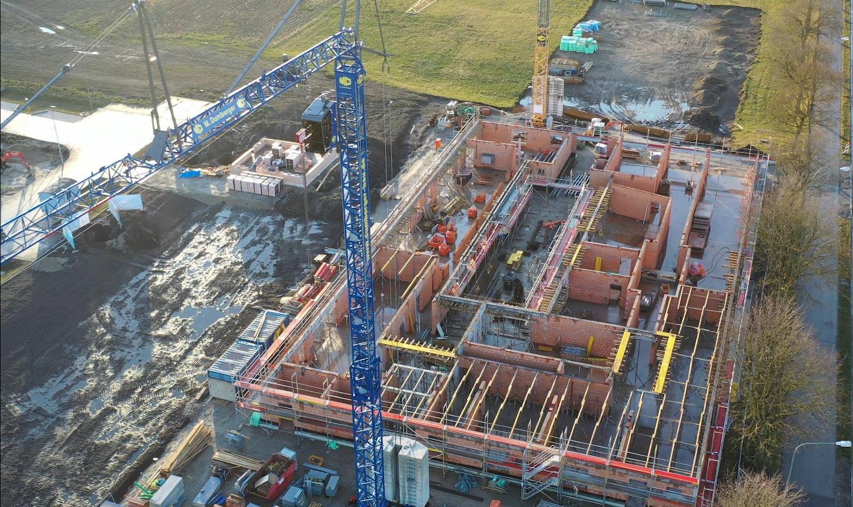 Bilder vom Kita-Neubau in Bobingen mit Unterstützung von Bauherrenvertreter Conwick